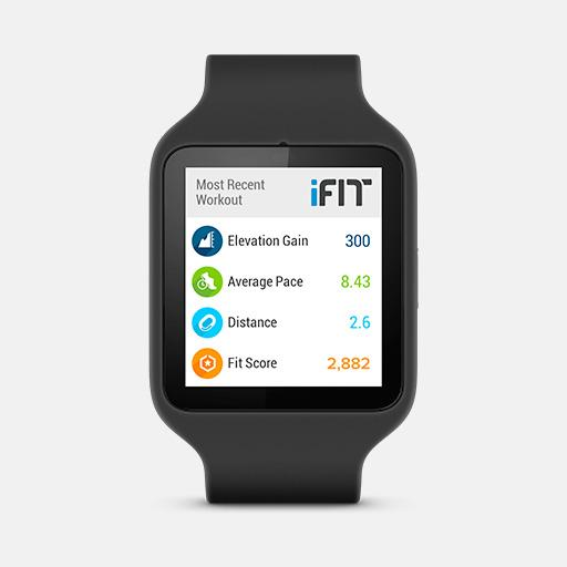 iFit Outside - screenshot
