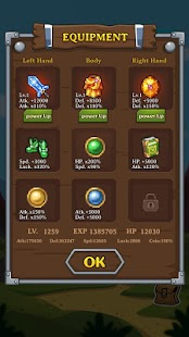 3 Dungeon Quest App screenshot