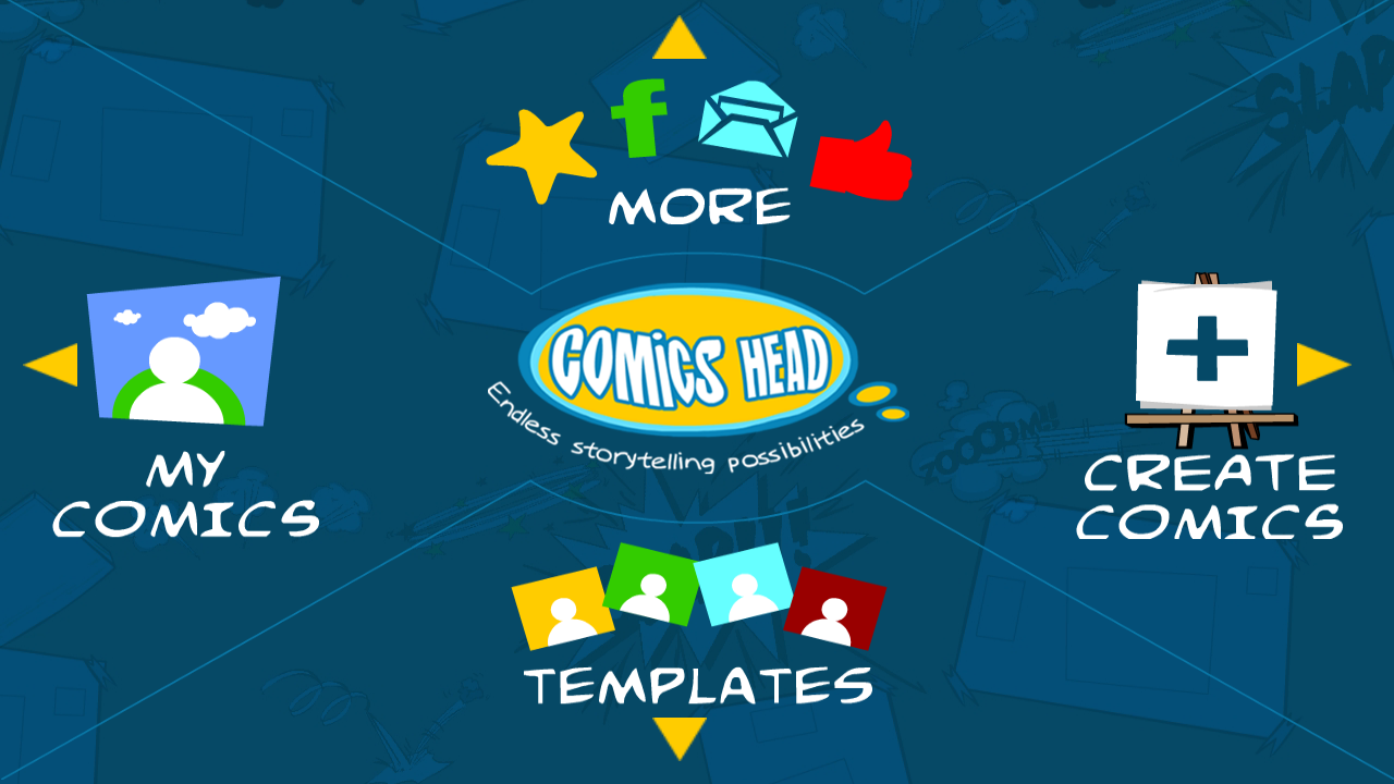 Comics Head Lite - screenshot