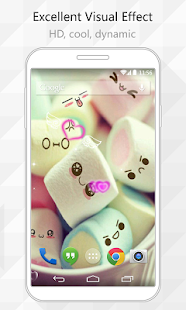 Marshmallow Live Wallpaper