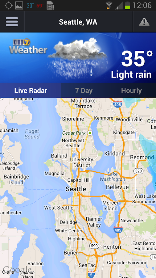 KIRO 7 Weather - screenshot