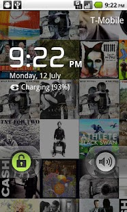 Album Art Live Wallpaper Demo - screenshot thumbnail