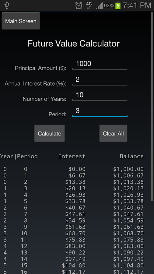 Calculator++- screenshot
