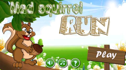 Mad squirrel run