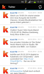 kick!fm- screenshot thumbnail