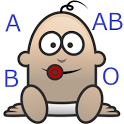 child's blood type probability icon