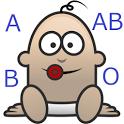 child's blood type probability icon