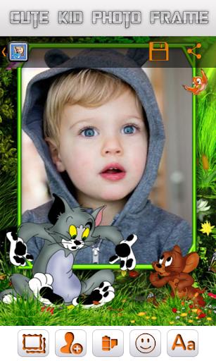Cute Kid Photo Frame