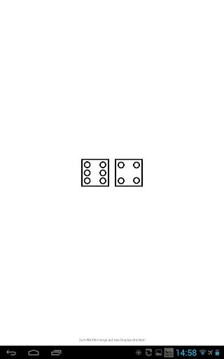 two simple dice - free App  screenshots 3