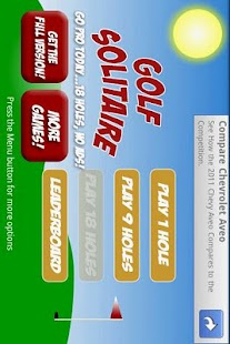 Golf Solitaire Free - screenshot thumbnail