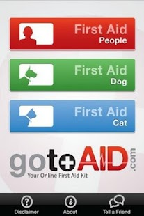 GotoAID First Aid screenshot for Android