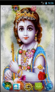 Shree Krishna Live Wallpaper- screenshot thumbnail