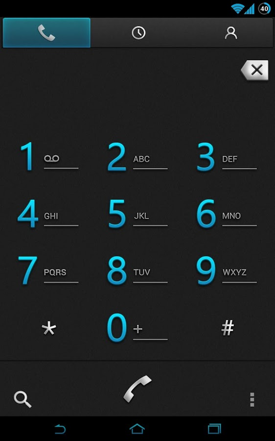 CM10.1 - Bluemint Theme- screenshot