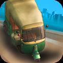 Tuk Tuk Rikshaw Driving Sim icon
