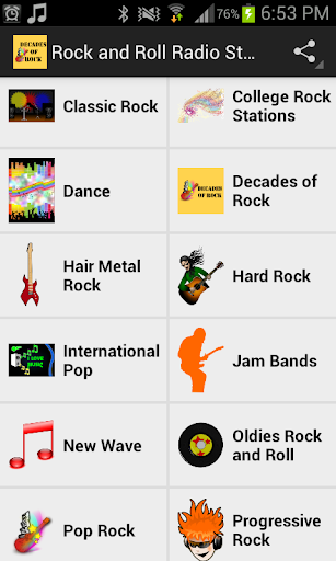 Rock and Roll Radio Stations