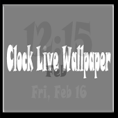 Clock Live Wallpaper