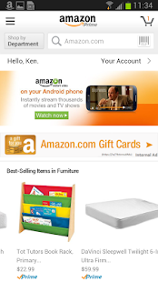App Amazon APK for Kindle