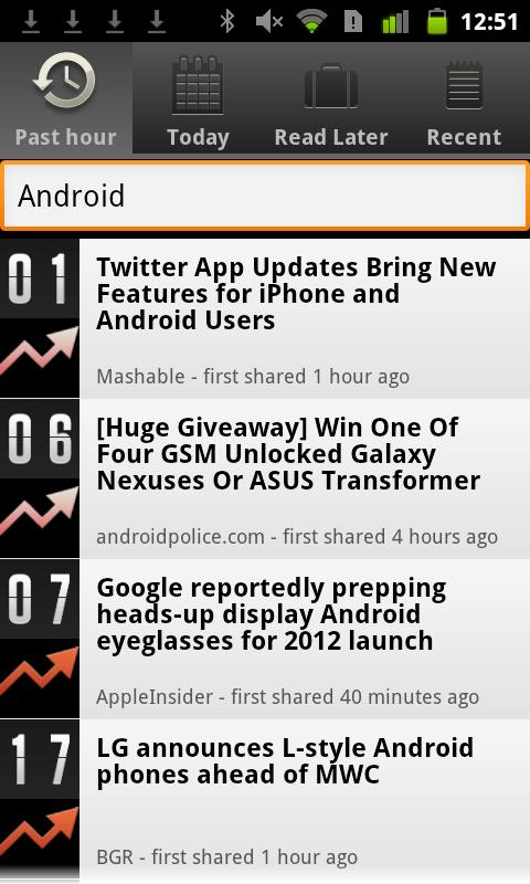 Currently Tech News- screenshot