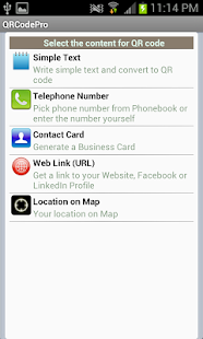 QRCodePro - QR Code Generator - screenshot thumbnail