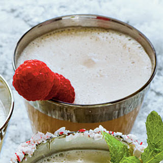 Chocolate-Raspberry Milk Punch.