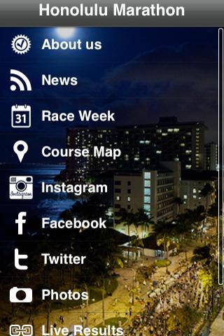 Honolulu Marathon- screenshot