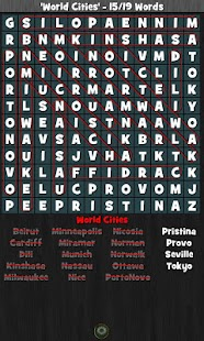 WordSearch Hunter Free- screenshot thumbnail