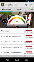 Screenshot of Jagdschein Nordrhein-Westfalen