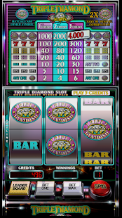 Slot Machine: Triple Diamond 4