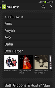 NicePlayer music player Screenshot 8