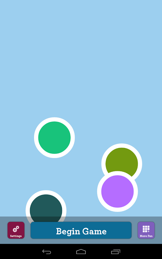 Color Dots - Infant & Baby App - screenshot