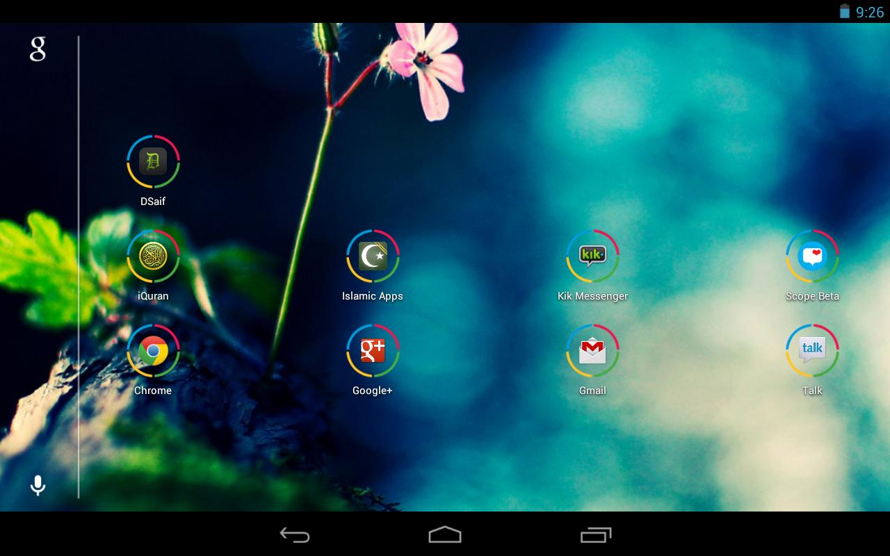 Icon Pack - Nexus Circle - screenshot