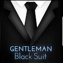 Gentleman Black Suit Keyboard icon