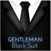 Gentleman Black Suit Keyboard