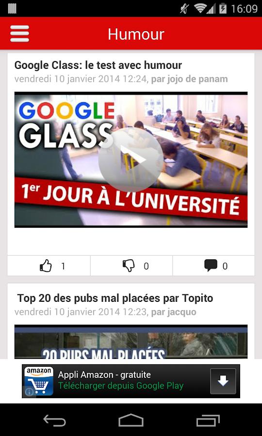 Humour, Gag, Espace Détente- screenshot