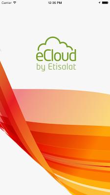 eCloud - screenshot