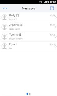 Go SMS 7 Theme - screenshot thumbnail