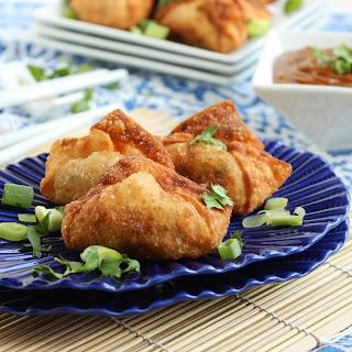 Chicken Pad Thai Wontons.