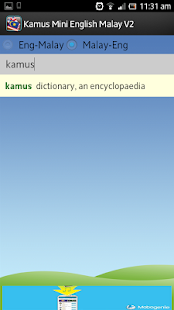 Kamus Mini English Malay V2