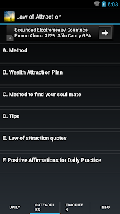 Law of Attraction Quotes &Tips- screenshot thumbnail