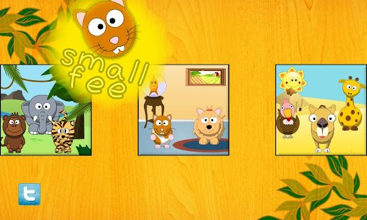 Cute Animal Life for Toddlers- screenshot thumbnail