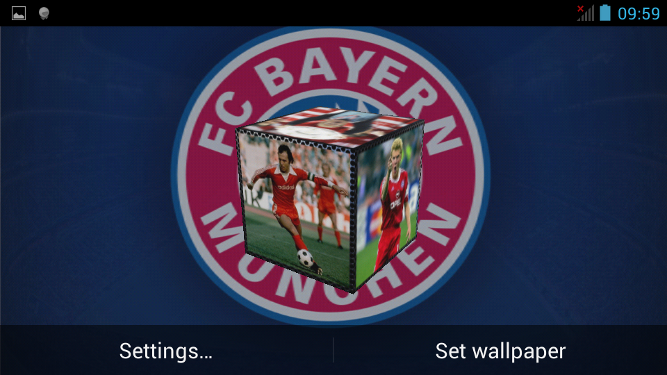 "FC Bayern Munich Legend 3D LWP"" is a live wallpaper for FC Bayern ..."