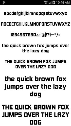 Fonts for FlipFont 50 5