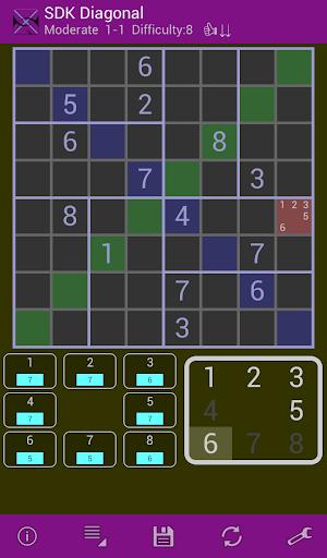 免費下載解謎APP|対角線ナンバープレイス 片指入力 app開箱文|APP開箱王