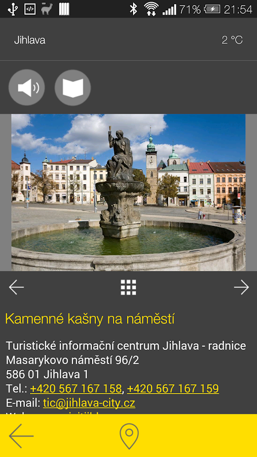 Jihlava - audio tour- screenshot