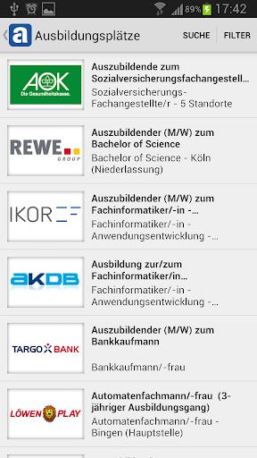 教育必備APP下載|Ausbildung finden - azubister 好玩app不花錢|綠色工廠好玩App