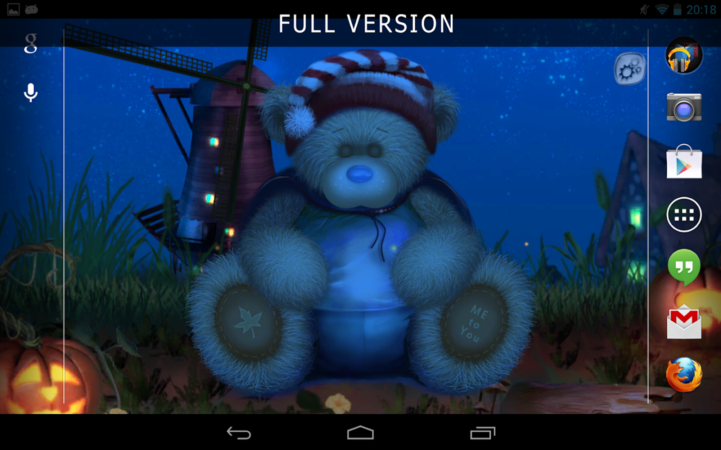 Halloween & Fall Teddy Lite- screenshot