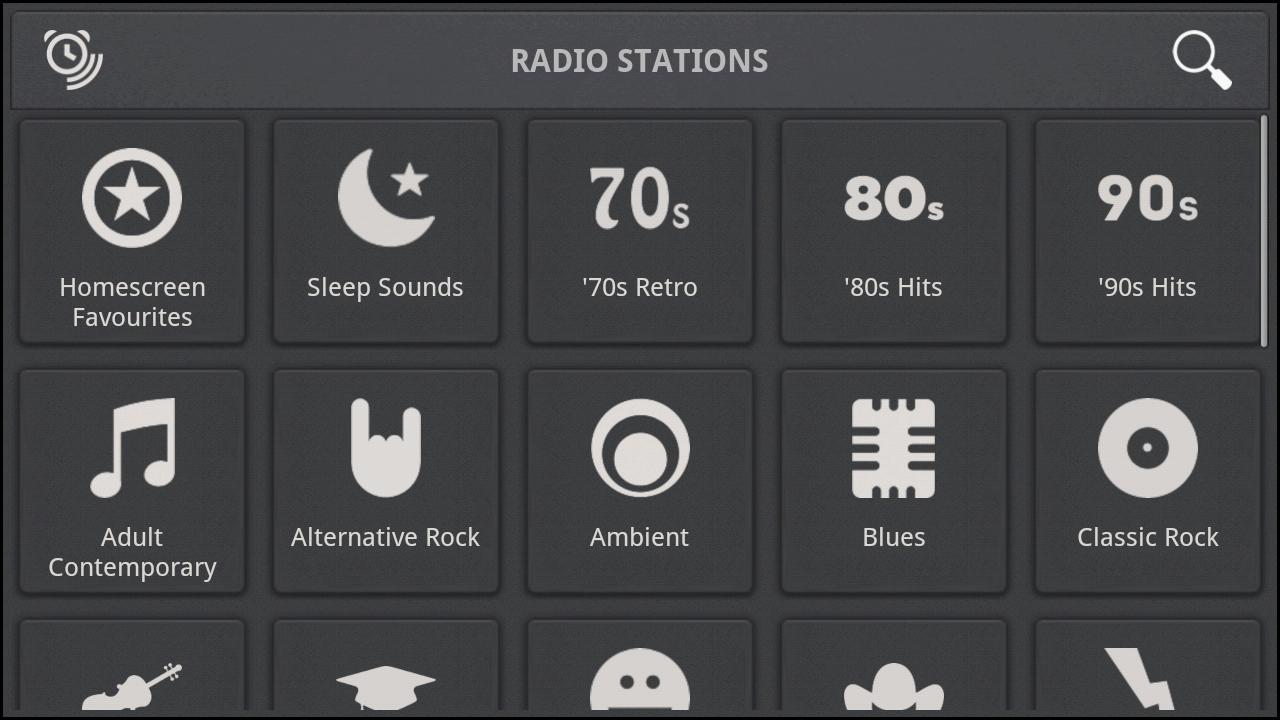 Rise Up! Radio/Alarm Clock - screenshot