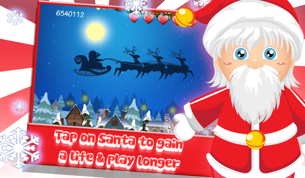 Santa Floating Gifts - screenshot