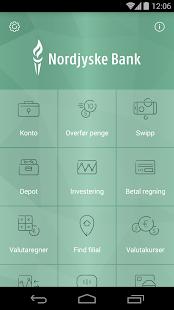 Nordjyske Mobilbank - screenshot thumbnail