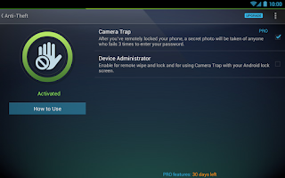 Screenshot of Tablet AntiVirus Security FREE